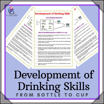 Occupational Therapyy - Development of Drinking Skills - F