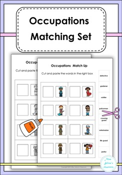 Occupations Matching Set