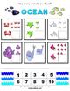 Ocean Activity Packet / Worksheet Set + Flashcards