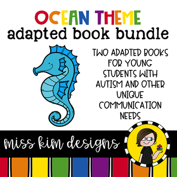 Ocean Adapted Book Bundle: 2 Adapted Books for Children wi