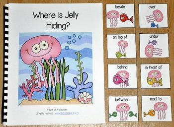 "Ocean Adapted Book--""Where is Jelly Hiding?"""