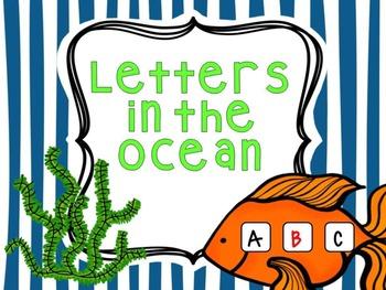 Ocean Alphabet Order
