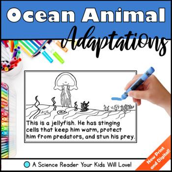 Ocean Animal Adaptations - A Science Reader