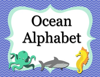Ocean Animal Alphabet