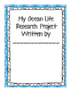 Ocean Animal Research Project