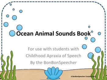 Ocean Animal Sounds Book