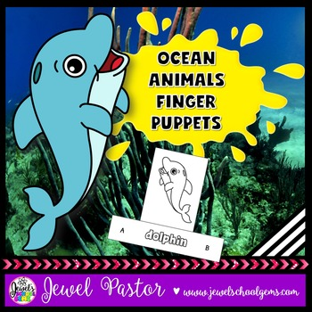 Ocean Animals Crafts (Finger Puppets)