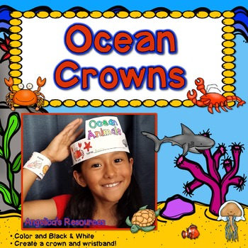 Ocean Animals : Crowns and Wristbands