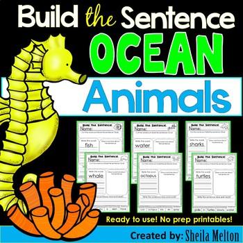 Ocean Animals Build the Sentence
