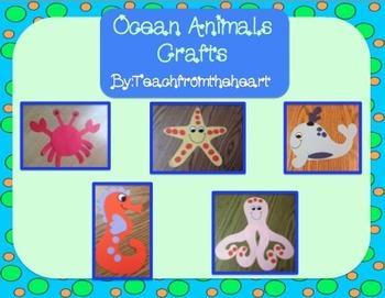 Ocean Animals/ Sea Animals (Crafts only)