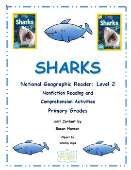 Ocean Animals: Sharks National Geographic Level 2 Reader
