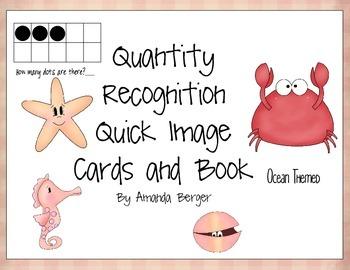Ocean Animals Subitizing Quick Match Cards