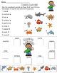 Ocean Animals Vocabulary Activities for ELLs