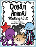 Ocean Animals Writing Unit!