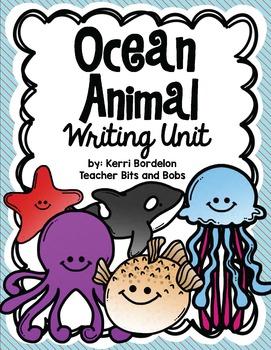 Ocean Animals Writing Unit!