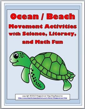 Ocean Science - Beach Science with Movement Activities, Li