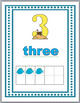 Ocean Theme - Beach Theme Numbers 1-30 Number Posters with