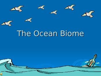 Ocean Biome PowerPoint