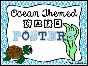 Ocean CAFE Poster Set