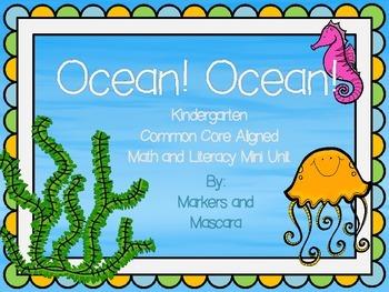 Ocean Common Core Math and Literacy Mini Unit