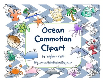 Ocean Commotion Clipart