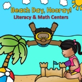 Ocean Commotion - Literacy and Math Centers for Kinder