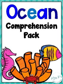 Ocean Comprehension Pack