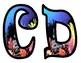 Ocean Coral Bulletin Board Letters