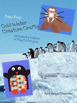 Cold Weather Creatures-Ocean Animal Crafts: Wonderful Walr