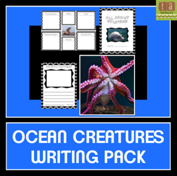 Ocean Creatures Writing Pack