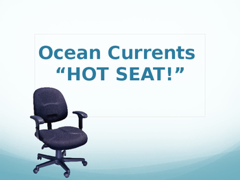 Ocean Currents Review Game