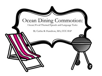 Ocean Dining Commotion: Multipurpose Activities for Speech