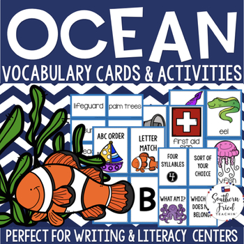 Ocean Vocabulary Activities