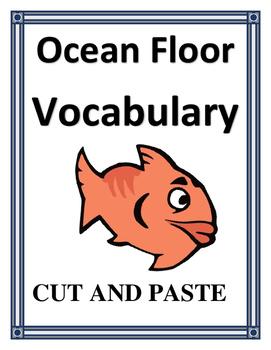 OCEAN FLOOR FEATURES VOCABULARY