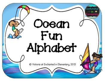 Ocean Fun Alphabet Cards
