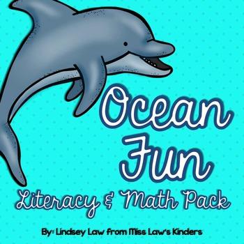 Ocean Fun Literacy & Math Pack