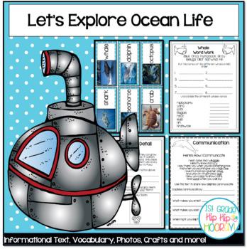 Ocean Life...Crafts and Activities!