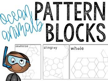 Ocean Pattern Block Puzzles