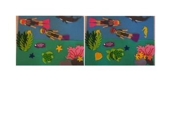 Ocean Scene Spot the Differences