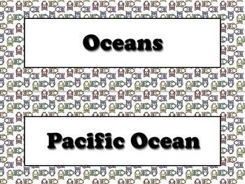 Ocean Strips - Owls Theme - King Virtue