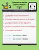 Ocean Student Pairing Cards * Spanish Stem Changing Verbs