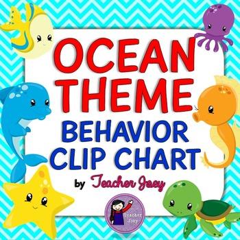 Ocean Theme Behavior Chart