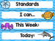 Ocean Theme Classroom Decor: Focus Wall Headers