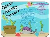 Ocean Theme Literacy Pack (Common Core Aligned K-1)