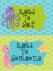 Ocean Theme Literacy Signs
