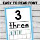 Number Posters - Ocean Theme