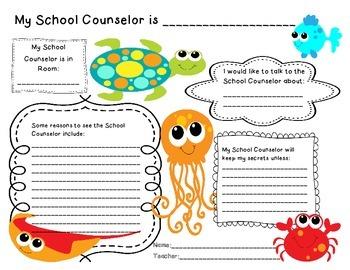 Ocean Theme School Counselor