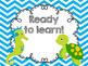 Ocean Themed Classroom Clip Chart