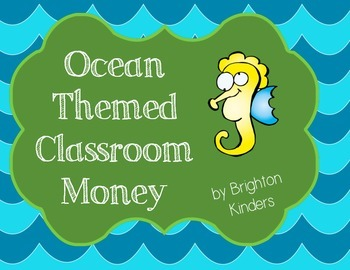 Ocean Themed Classroom Money System & Rules