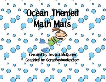 Ocean Themed Math Mats